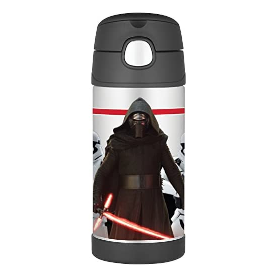 Thermos Star Wars Episode VII 12 Ounce Funtainer Bottle, Kylo Ren