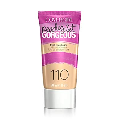 COVERGIRL Ready, Set Gorgeous Liquid Makeup Foundation Creamy Natural 1 Fl Oz