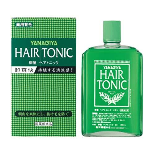 Yanagiya 柳屋生发液养发营养液360ml 改善脱发