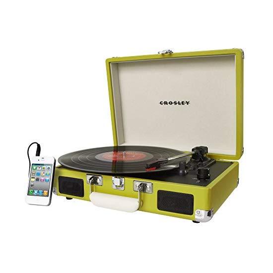 Crosley CR8005A-BK 便携复古碟片音箱