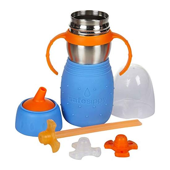 The Safe Sippy 2 2-in-1 Sippy to Straw Bottle 安思培2合1吸管学饮杯
