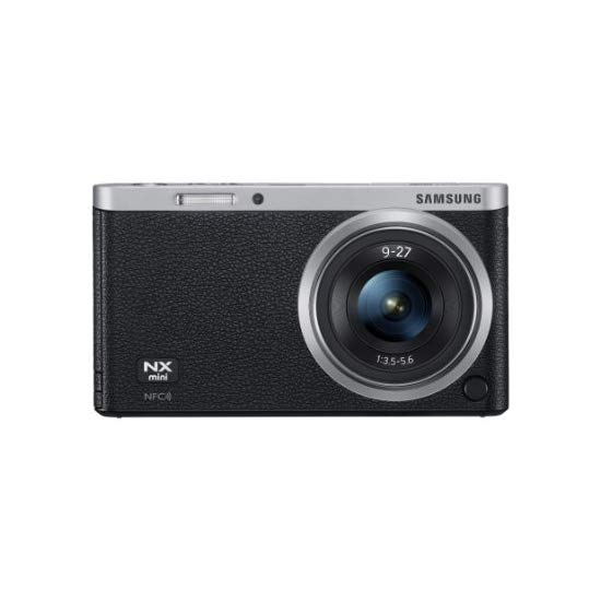 Samsung NX Mini 20.5MP CMOS Smart WiFi & NFC Compact Interchangeable Lens Digital Camera with 9-27mm Lens and 3