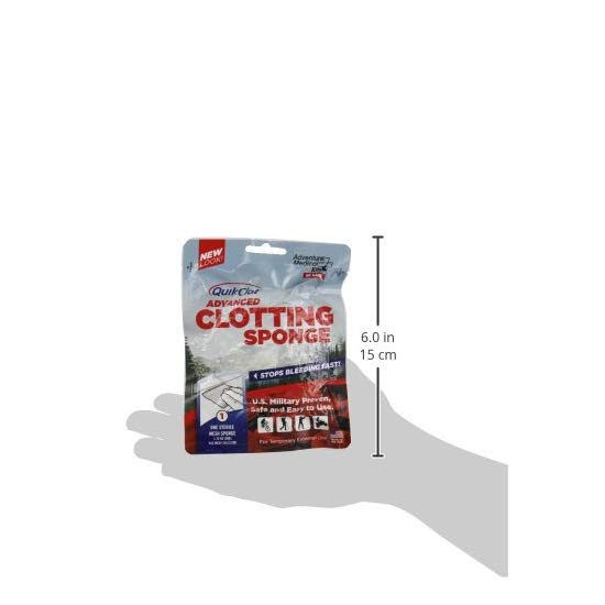 QuikClot Advanced Clotting Sponge 血盾 急救药剂