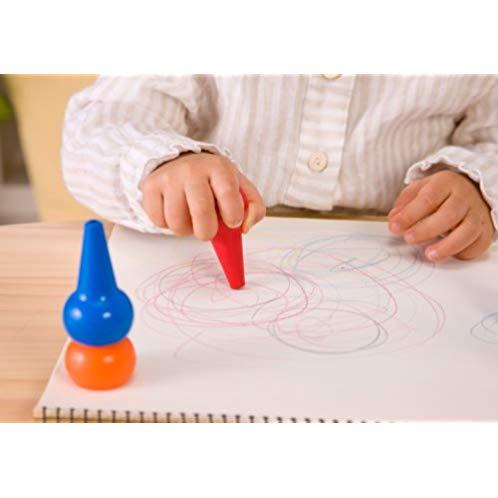 BABY COLOR  basic assor t无毒可水洗儿童积木蜡笔