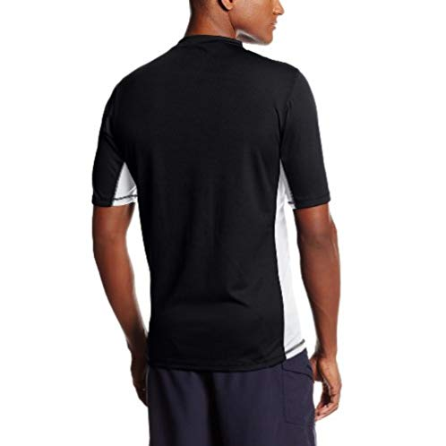 Speedo Men's UPF 50+ Longview Short Sleeve Rashguard Swim Tee