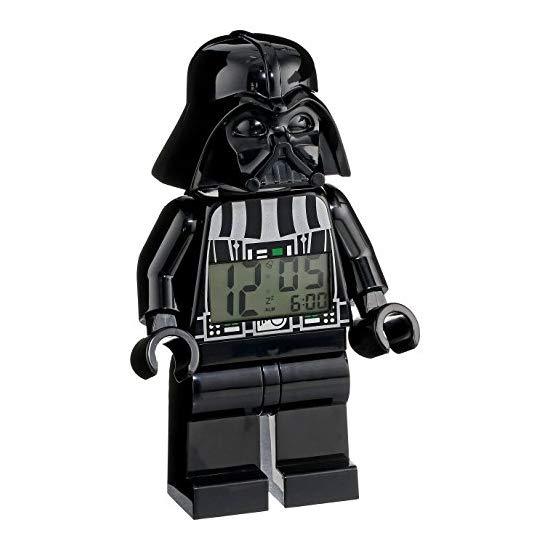LEGO 乐高 星球大战达斯维达卡通造型闹钟