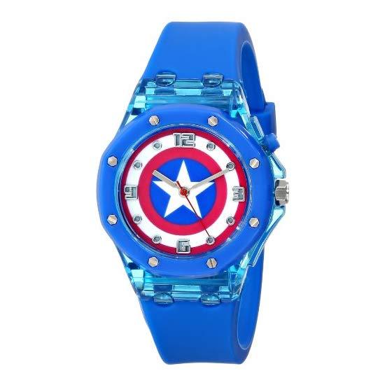 Marvel 漫威 美国队长 儿童石英手表