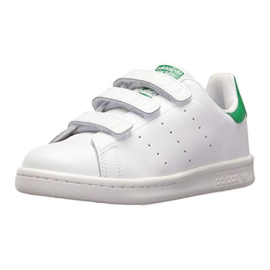 adidas 阿迪达斯 Originals 三叶草 Kids' Stan Smith CF C Sneaker 儿童板鞋