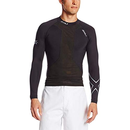 2XU Men's Swimmers Compression Long Sleeve Top