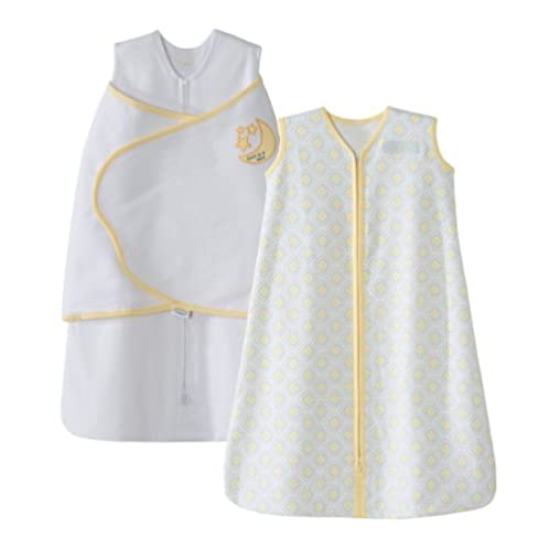 HALO 光环 SleepSack 纯棉包裹式睡袋和无袖套式睡袋2件套