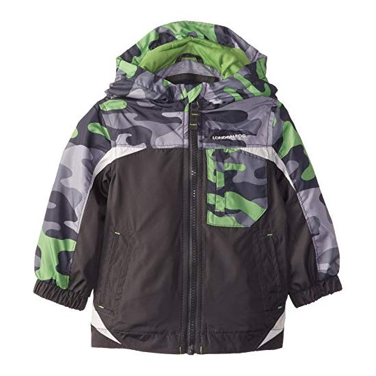 London Fog Baby-Boys Infant Midweight with Camo Yoke