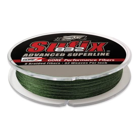 Suffix 832 Advanced Superline Braid - 150 yards