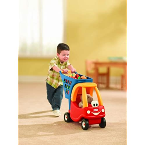 Little Tikes Cozy Shopping Cart Red/Yellow