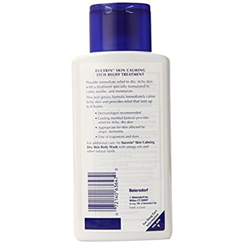 Eucerin Skin Calming Itch Relief Treament, 6.8 Ounce (Pack of 3)