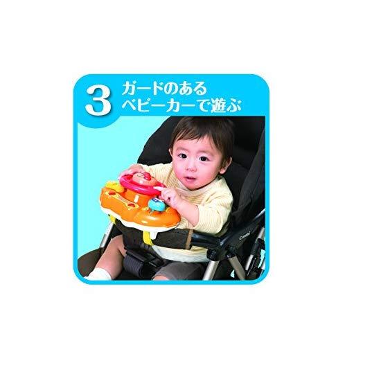Pinocchio 面包超人 宝宝方向盘音乐玩具