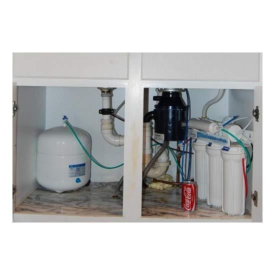 爱诗普霖 iSpring RCC7AK-UV - Comprehensive 75GPD 7-Stage Reverse Osmosis Water Filter with Flow Sensor Switch 11W UV, Alkaline PH+