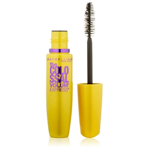 Maybelline New York The Colossal Volum' Express Washable Mascara, Glam Black 230, 0.31 Fluid Ounce