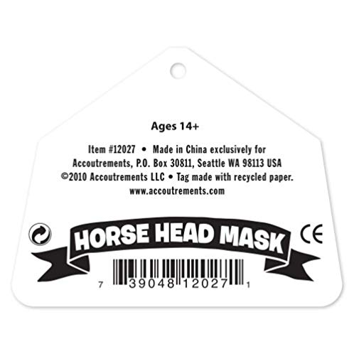 Accoutrements Horse Head Mask 马头面具