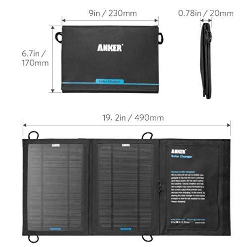 Anker 安科 可折叠太阳能充电器
