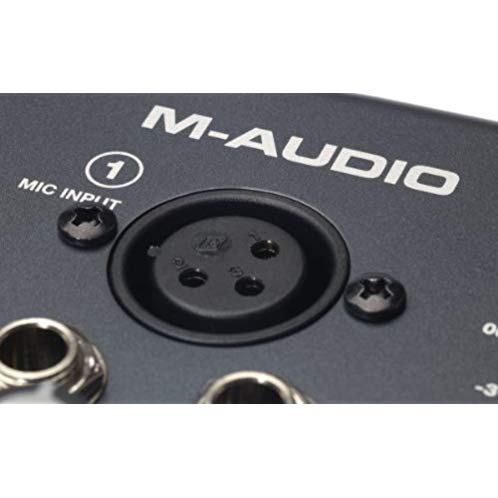 M-Audio M-Track Two-Channel Portable USB Audio and MIDI Interface