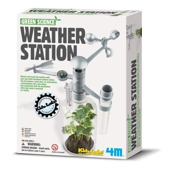 4M Weather Station Kit 气象站环保科普DIY玩具