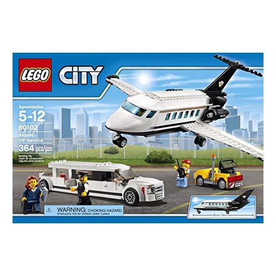 LEGO 乐高 城市系列 机场vip服务积木玩具 60102