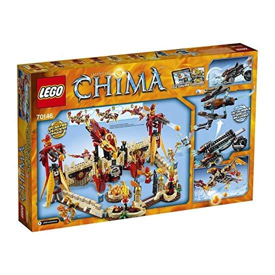 LEGO 乐高 Chima气功传奇  烈焰凤凰飞天神殿