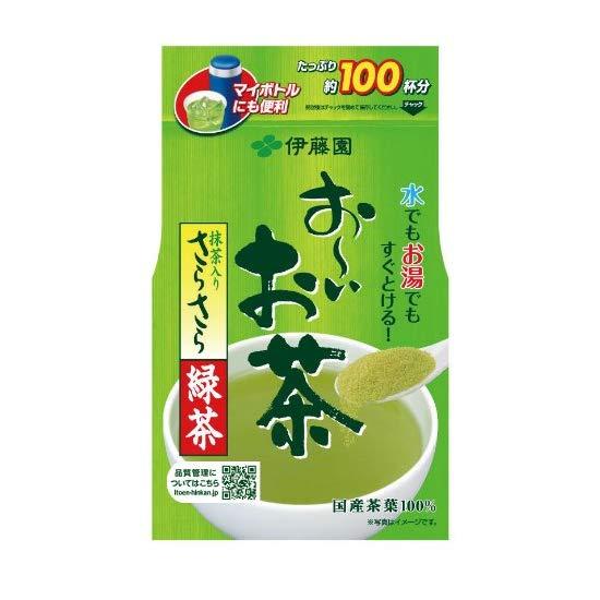 伊藤园  纯天然抹茶 绿茶速溶茶粉