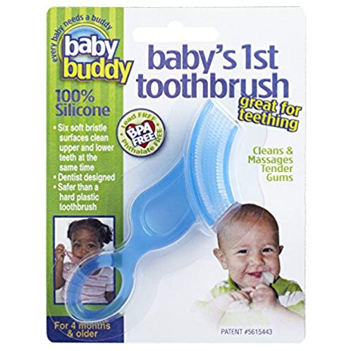 Baby Buddy Baby's 1st Toothbrush 婴儿牙刷磨牙器
