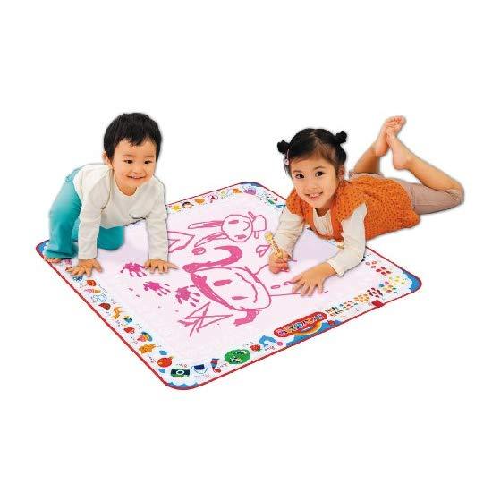 PILOT儿童神奇水画布 红色 水画笔不用擦除可反复使用