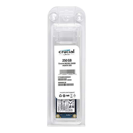 Crucial MX200 250GB mSATA Internal Solid State Drive - CT250MX200SSD3