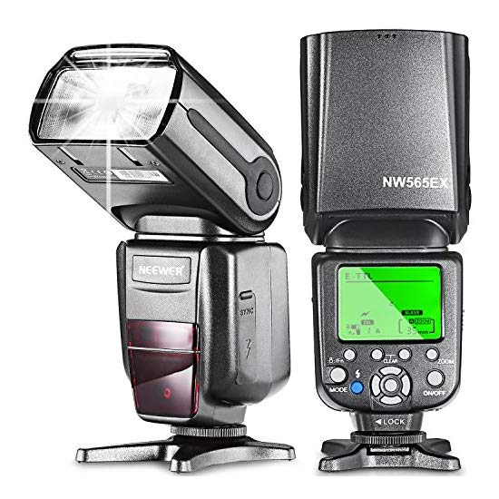 Neewer® NW565EX E-TTL Slave Flash Speedlite with Flash Diffuser for Canon 5D Mark III,5D Mark II,7D,30D,40D,50D,300D,350D,400D,500D,550D,600D,700D,1000D,1100D and Other Canon DSLR Cameras
