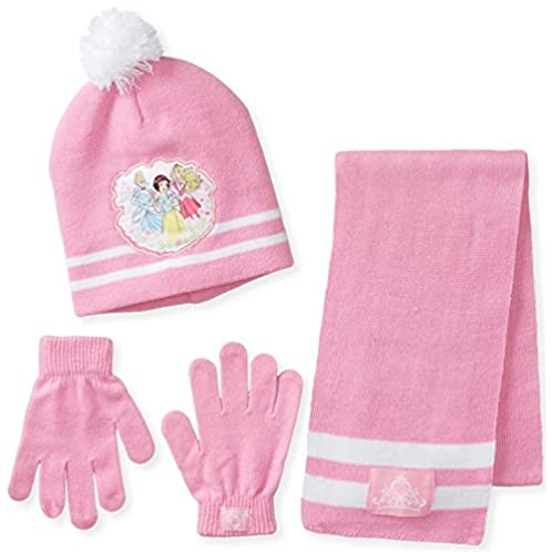 Berkshire 迪士尼公主系列女童帽子围巾手套