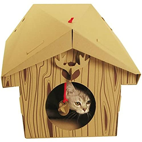 SUCK UK 创意猫咪纸盒子窝 消防车版