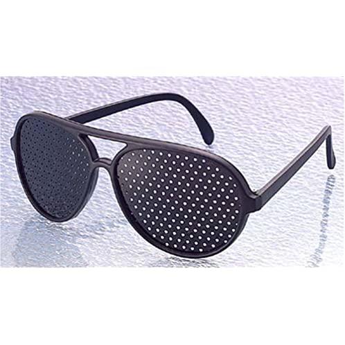 防近视 散光 矫正理疗缓解疲劳保护视力 米钉框 针孔小孔眼镜
