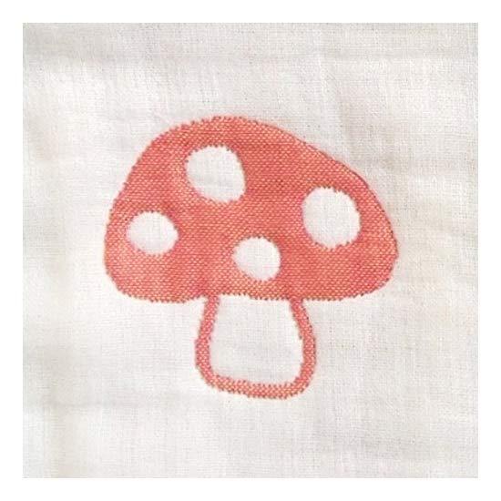 ホッペッタ Hoppetta champignon 6重ガーゼスリーパー キッズサイズ 7240