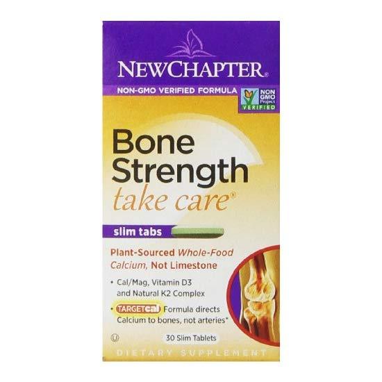 New Chapter 新章 维骨力 有机补钙营养素